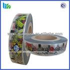produto comestível da goma de bolha personalizado etiqueta do tatuagem