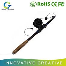 "15 meters deep hign technology 3.5"" LCD screen telescopic fishing pole"