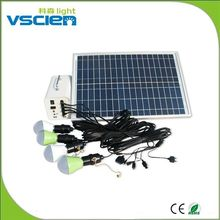 Vscien Best selling solar dc lighting kit Guatemala market