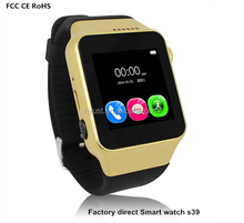 S39 Smart bluetooth watch phone with sim card 1.54'' capacitive touch screen