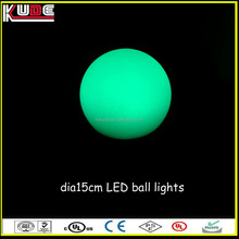 color changing waterproof led light balls for outdoor decoration
