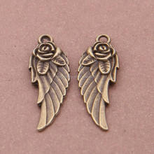Steel mould die-casting alloy parts of ancient bronze roses wings act the role ofing is tasted