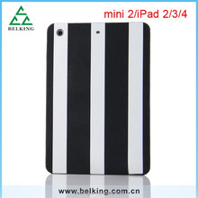 Tablet Silicone Case for ipad mini 1 2 Soft Case, Stripe case for ipad mini 1 2