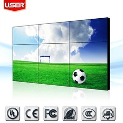 46 Inch LCD Video Wall with 5.3mm Ultra Narrow Bezel