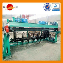 large efficiency with TUV certification poultry manure composting machine
