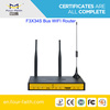 F3834S wireless VPN router wireless 4g LTE WIFI Router with WAN LAN RJ45 RS232/485 support ads promotion & long range