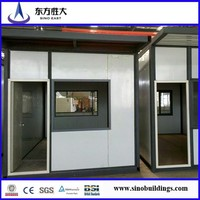 Promotion!!!low cost prefab container house for hotel,coffe house with insulation/sandwich panel/manufacturer