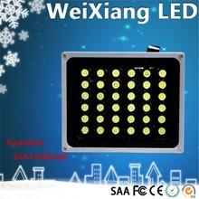 High light transmittance plastic lens led lights silver/black led fill light with 3 years warranty