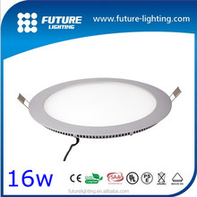 Indoor super thin ceiling lighting 15W 20W small led round flat led panel light , led panel lighting