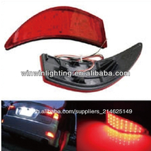 lexus is250 is350 2 pc lente de color rojo conducido parachoques trasero reflector