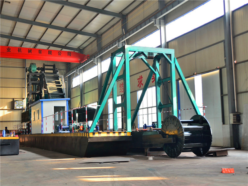 100t-400tph Big Power Gold Bucket Dredger/Gold Dredger/Gold Suction Dredger with High Performance from Sinolinking