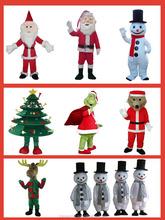 Hi ce di alta qualità natale babbo natale, usato mascotte costumi di carnevale per la vendita