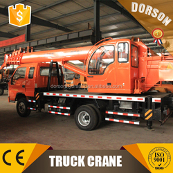 FOTON chassis China famous 8 ton truck crane manufacturer with best after sale service