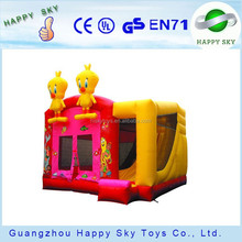 HI-Factory price PVC inflatable bouncer/moon bounce/inflatable bounce king