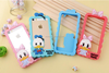 Cell Phone cartoon soft silicone mobile phone cases cover for iPhone4 4S