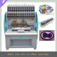 Made in China! 24 colors automatic pvc fabric label/logo dispensing machine with factory price