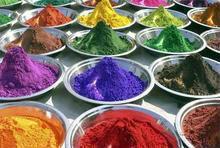 Iron oxide pigment for color asphalt in road paving