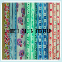 polyester cotton mixed printed fabric for bed sheets fabric