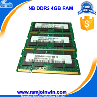 new products on china market sodimm ddr2 4 gb from Joinwin