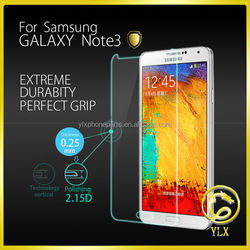 YLX Super Quality Direct Factory Price Unmatched Clarity Tempered Glass Screen Protector For Samsung note 3