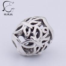 flower silver hand popular in europe hollow design pendant
