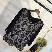 Latest design beaded neckline front lace blouse for middle aged women