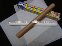 kitchen usage easy release silicone coated paper