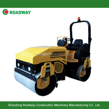 3 ton double drum vibrating compactor