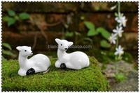 porcelain white sheep small figurine ornaments