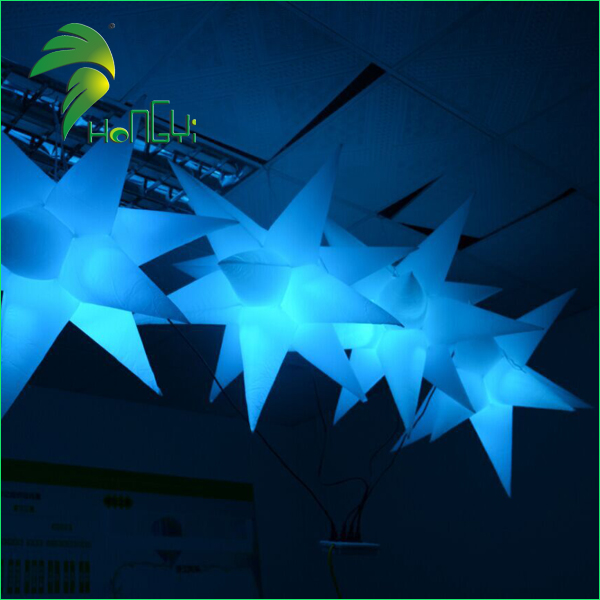 led lighting star shaped balloon (3)