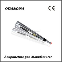Painless acupuncture stimulation infrared laser massage pen