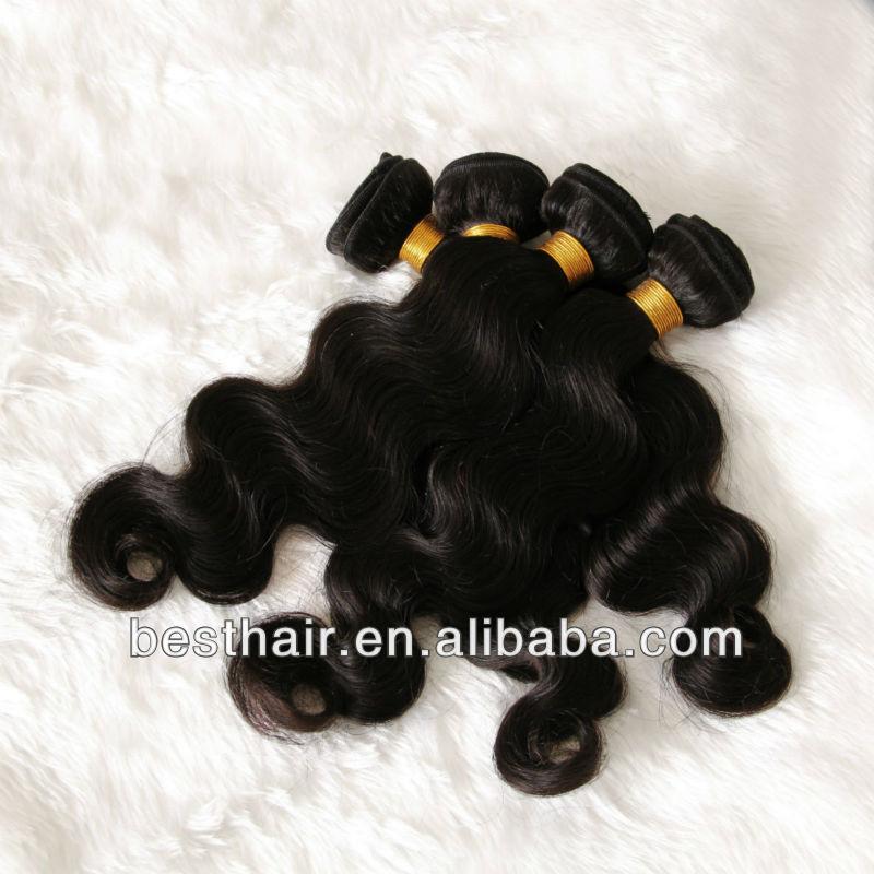 Virgin Brazilian Hair No Shedding 80