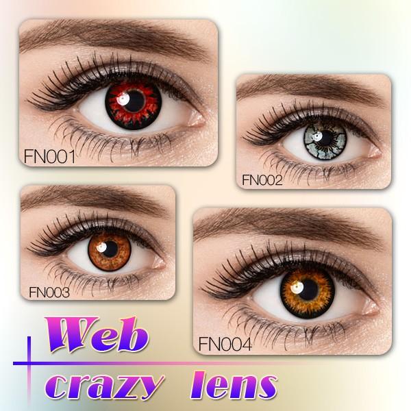 Yellow Eye Lenses Cosplay Yellow ...