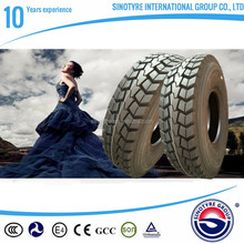 DOT, GCC certificated high quality 11R24.5 solid rubber truck tire