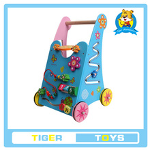 The wooden educational toy-wooden pull toy