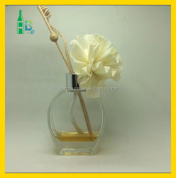 95ml aroma glass bottle with rattan