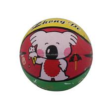 custom size 2 220g inflatable letter wording colorfulcartoon animal Rubber sport ball Basketball KH10-20