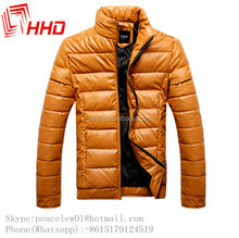 Customised High Quality Cheap Price Men's Washed Leather Garment