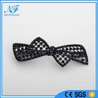 Moda de alta qualidade diamantes metálico grafite Bowknots broches / Pins para o vestuário como presentes