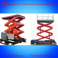 2015 scissor cargo lift/hydraulic wall mounted lift platform