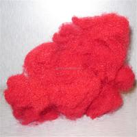eco friendly red nylon6 staple fiber