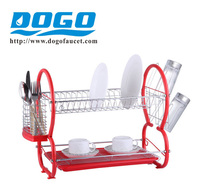 China factory 2 Tiers Multi-funcational Plate Rack Dish Stroage Rack