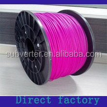 Lower 1.75mm PLA 3D printer filament price with 43 stock colors