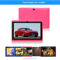 7 inch Tablet PC MID Q88 Android 4.4 DDR3 512MB ROM 8GB Wifi A33 Quad Core Camera