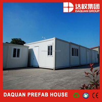 DAQUAN Prefabricated Cheap Modular Mobile Container House Designs/Temporary Cheap Prefab Container Cabin