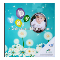 8x10 Deluxe crystal self adhesive sheets photo albums lovely baby photo album