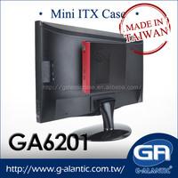 GA6201 Mini itx pc case for HTPC branded desktop computer