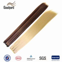 High quality wholesale cheap straight noble gold synthetic hair