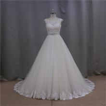 2015 sheer lace v neckline elegant mermaid wedding dress 2012