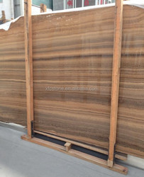 Top Selling Yellow Wooden Stone Marble for Floor or Wall